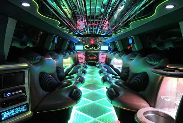Hummer limo interior tampa