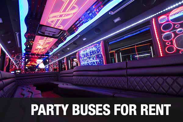 Wedding Transportation Party Bus Tampa